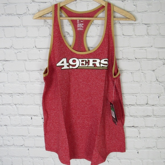 f55e1da32 Nike San Francisco 49ers Tank Top Womens XL Red